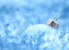 Fonds d'écran Art - Numérique Blue Christmas