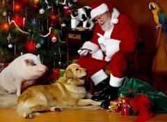 Fonds d'écran Art - Numérique Santas Claus