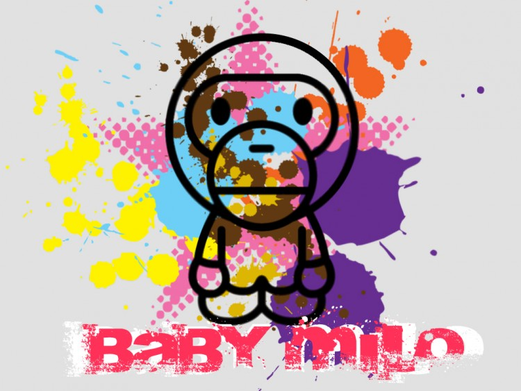 baby milo wallpaper. Wallpapers Advertising Baby
