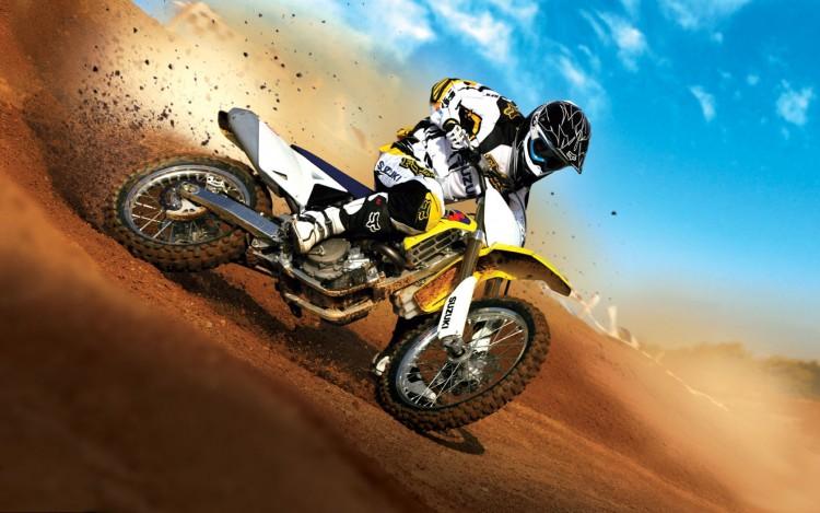 Fonds d'écran Motos Motocross Wallpaper N°252908