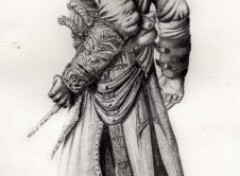 Fonds d'écran Art - Crayon Altaïr Ibn La'Ahad - Assassin's Creed