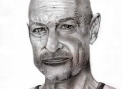 Fonds d'écran Art - Crayon John Locke - LOST