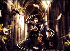 Wallpapers Video Games Bayonetta VS Angels