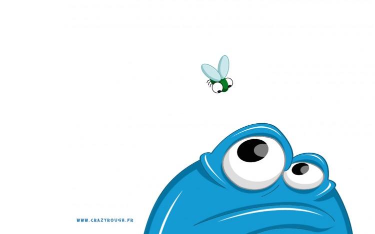 Fonds d'écran Art - Numérique Animaux La mouche
