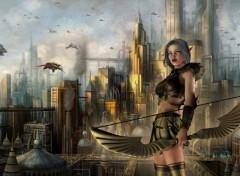 Fonds d'écran Fantasy et Science Fiction Invasion