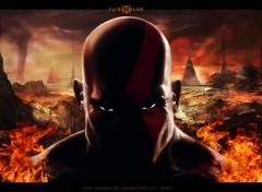 Fonds d'écran Jeux Vidéo Kratos