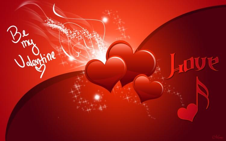 Fonds d'écran Art - Numérique Amour, amitié Be my Valentine