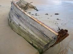 Wallpapers Boats Epave barre d'Etel
