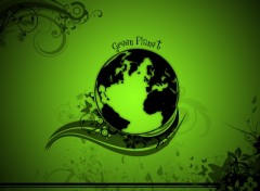 Wallpapers Digital Art Green Planet
