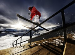 Wallpapers Sports - Leisures CoreUPT ski !