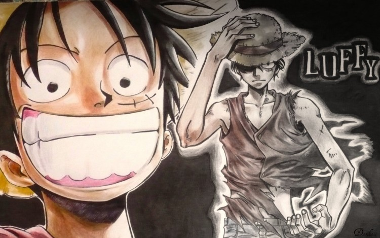 Wallpapers Manga One Piece Luffy Heroes