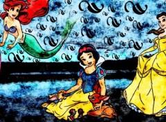 Fonds d'écran Dessins Animés disney princesses revisité par lulu ^^