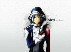 Fonds d'écran Manga Allen - Black and Gray