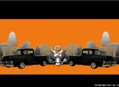 Fonds d'écran Art - Numérique American Retro