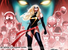 Fonds d'écran Comics et BDs miss marvel