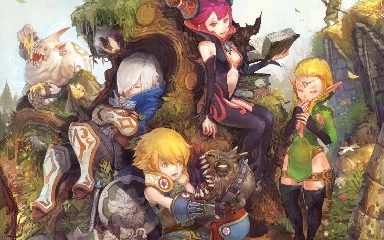 Cool Dragon Nest Characters Wallpapers