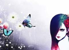 Wallpapers Digital Art My Butterfly