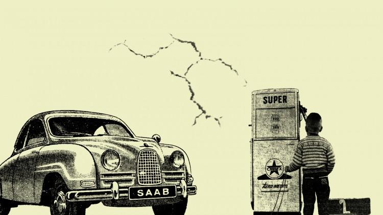 Fonds d'écran Voitures Saab saab vintage