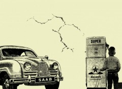 Wallpapers Cars saab vintage