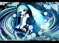 Wallpapers Manga Miku Hatsune