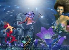 Fonds d'écran Fantasy et Science Fiction Atlantide