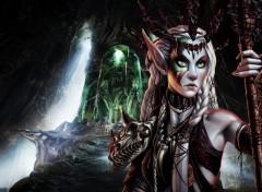 Fonds d'écran Fantasy et Science Fiction The Lair of the Beast