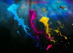 Fonds d'écran Art - Numérique Cerf-volant