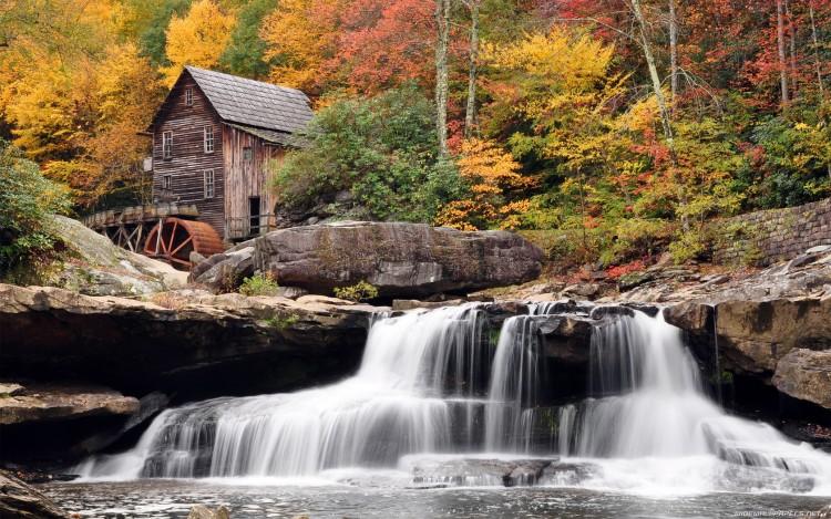 Fonds d'écran Nature Cascades - Chutes Cascades