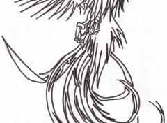 Wallpapers Art - Pencil phoenix