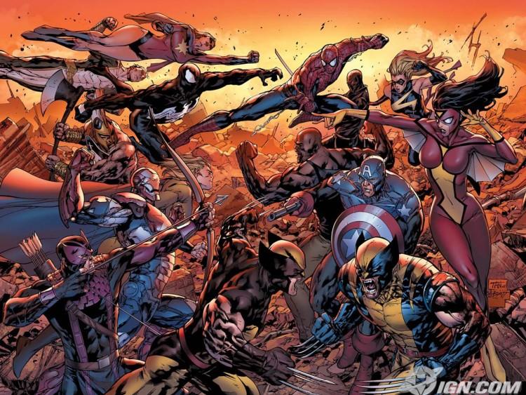 Fonds d'écran Comics et BDs Avengers dark reign