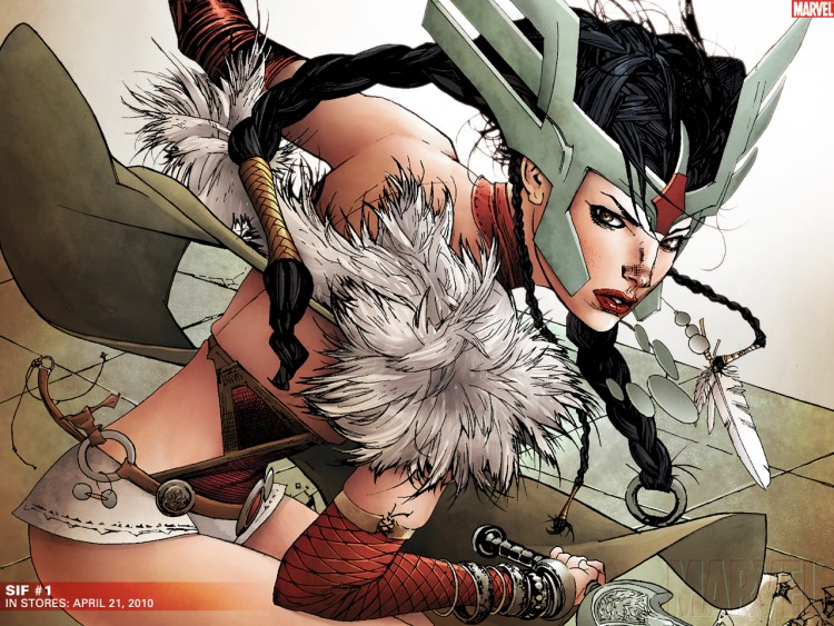 Fonds d'écran Comics et BDs Thor sif