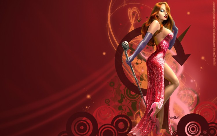 jessica rabbit wallpaper. Wallpapers Digital Art Jessica