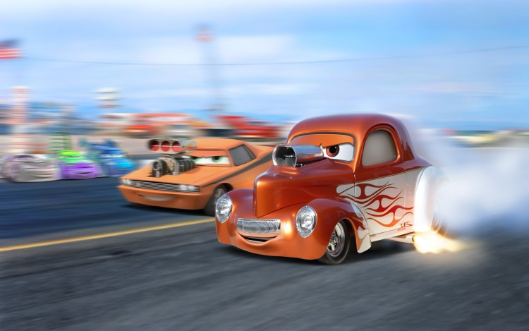 Wallpapers Cartoons Cars 1 and 2 Bruce, the Willys