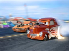 Wallpapers Cartoons Bruce, the Willys