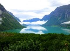 Wallpapers Trips : Europ Lac glaciaire en Norvège