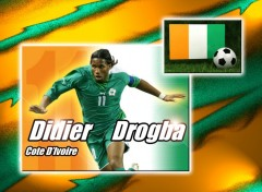 Wallpapers Sports - Leisures Didier Drogba Côte d'Ivoire