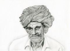 Fonds d'écran Art - Crayon Personnage divers de l'inde