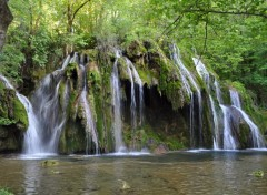 Wallpapers Nature cascade des tufs