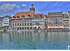 Wallpapers Constructions and architecture HDR Lucerne 1