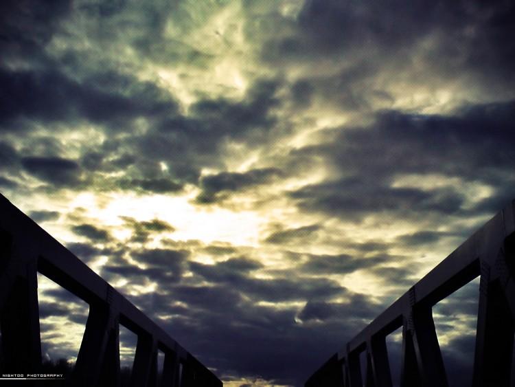 Fonds d'écran Constructions et architecture Ponts - Aqueducs Bridge of heaven