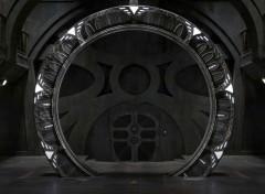 Fonds d'écran Séries TV Stargate universe porte