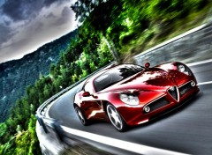 Wallpapers Cars Alfa Romeo 8C  HDR