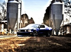 Wallpapers Cars Mustang HDR