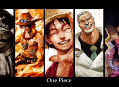 Fonds d'écran Manga One piece