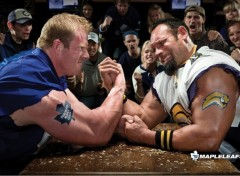 Fonds d'écran Sports - Loisirs Hockey Fans' Arm Wrestling