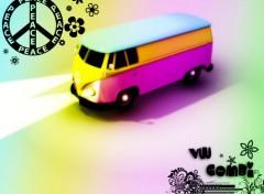 Wallpapers Digital Art VW Combi