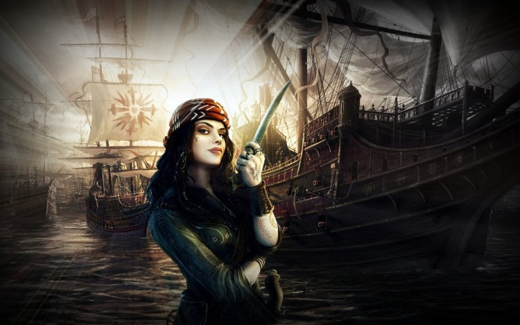 Wallpapers Fantasy and Science Fiction Pirates My PirateGirl