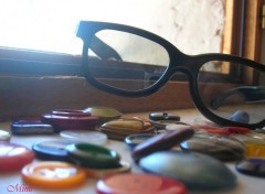 Wallpapers Objects Lunettes & Boutons