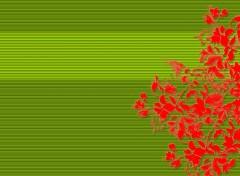 Fonds d'écran Art - Numérique Oriental Flowers