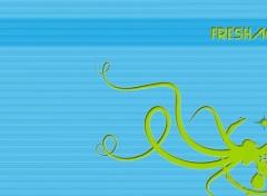 Fonds d'écran Art - Numérique Fresh Aqua